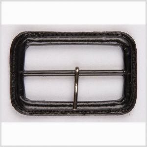 3/4 Black Leather Buckle