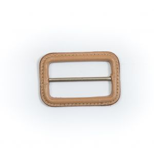 Natural Leather Buckle - 2.625