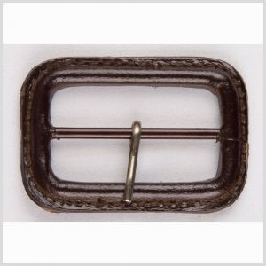 2 Antique Brown Leather Buckle