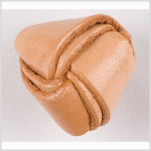 Natural Leather Button - 44L/28mm