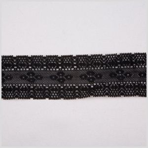 1.5 Black Clunny Lace