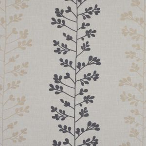 British Imported Steel Foliage Embroidered Woven