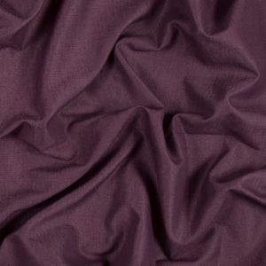 British Imported Berry Polyester, Cotton and Linen Woven