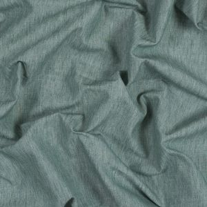 British Imported Seafoam Polyester, Cotton and Linen Woven