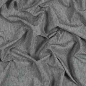 British Imported Steel Polyester, Cotton and Linen Woven