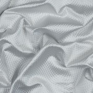 British Imported Silver Textured Jacquard