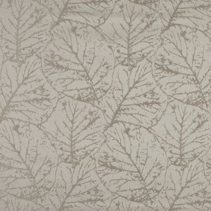 British Imported Wheat Satin-Faced Jacquard with Overlapping Leaves