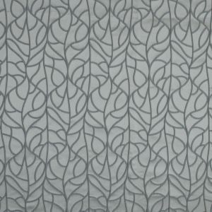British Imported Silver Satin-Faced Polyester Jacquard