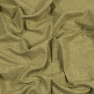 British Imported Olive Polyester and Cotton Woven