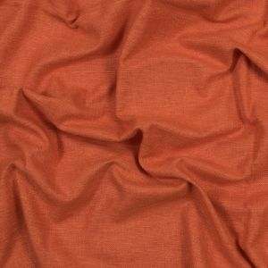 British Imported Paprika Polyester and Cotton Woven