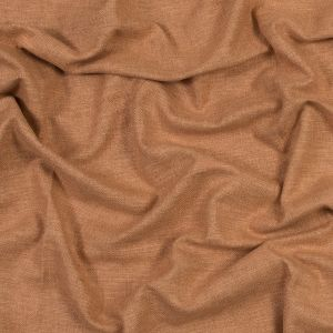British Imported Rust Polyester and Cotton Woven