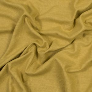 British Imported Sunflower Polyester and Cotton Woven