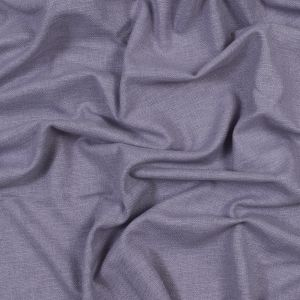 British Imported Violet Polyester and Cotton Woven