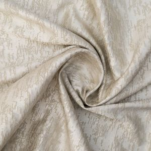 British Imported Champagne Crackle Polyester Jacquard