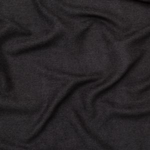 British Imported Noir Ultra Soft Polyester Woven