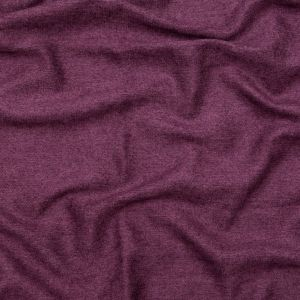 British Imported Plum Ultra Soft Polyester Woven