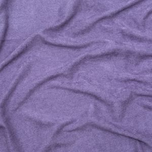 British Imported Purple Ultra Soft Polyester Woven