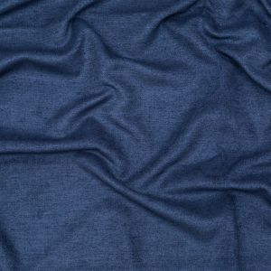 British Imported Royal Blue Ultra Soft Polyester Woven