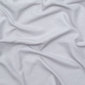 British Imported Silver Ultra Soft Polyester Woven