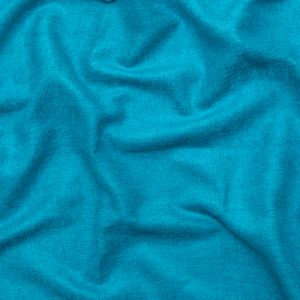 British Imported Teal Ultra Soft Polyester Woven