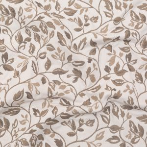 British Imported Pebble Floral Polyester and Cotton Jacquard
