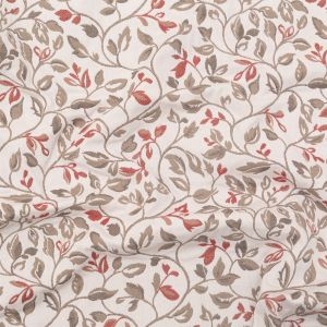 British Imported Vintage Floral Polyester and Cotton Jacquard