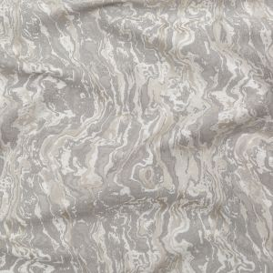 British Imported Silver Sedimentary Rock Abstract Jacquard