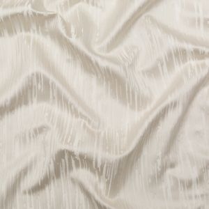 British Imported Champagne Jacquard With Organic Satin Stripes