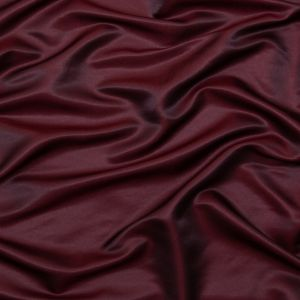 British Imported Wine Satin-Faced Shantung