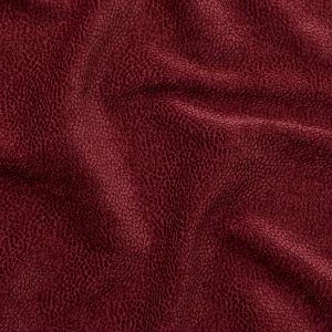 British Imported Claret Spotted Chenille