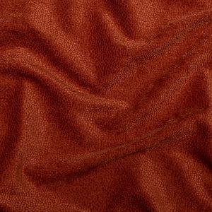 British Imported Terracotta Spotted Chenille