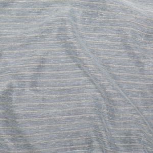 British Imported Linen Striped Drapery Sheer