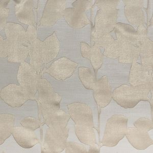 British Imported Oyster Satin-Faced Florals Drapery Jacquard