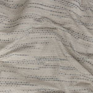 British Imported Monsoon Drapery Faille with Raised Woven Stripes