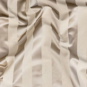 British Imported Shell Reversible Drapery Woven with Satin Awning Stripes