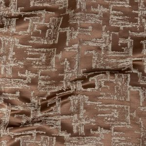 British Imported Rose Gold Abstract Drapery Jacquard
