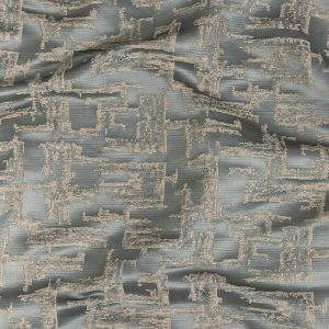 British Imported Sky Abstract Drapery Jacquard
