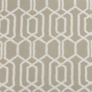 British Imported Linen Geometric Ikat Polyester Pique