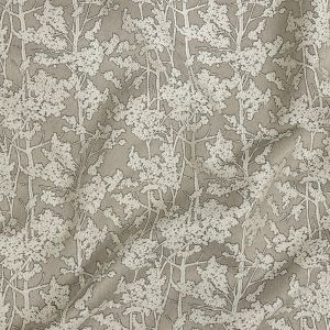 British Imported Fawn Woodlands Polyester Jacquard