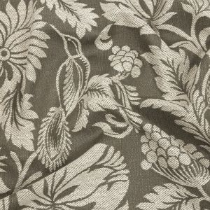 British Imported Moss Floral Drapery Jacquard