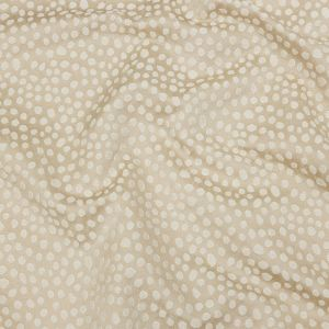 British Imported Champagne Spotted Polyester Jacquard