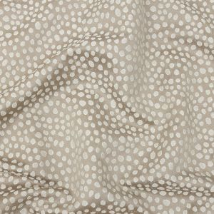 British Imported Taupe Spotted Polyester Jacquard
