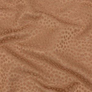 British Imported Ginger Spotted Polyester Jacquard