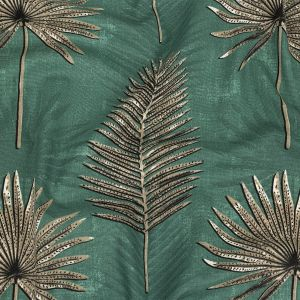 British Imported Forest Ferns Printed Cotton Canvas