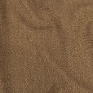 British Imported Caramel Polyester, Viscose and Linen Woven