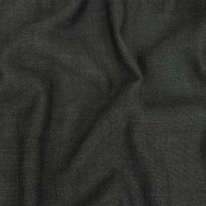 British Imported Charcoal Polyester, Viscose and Linen Woven