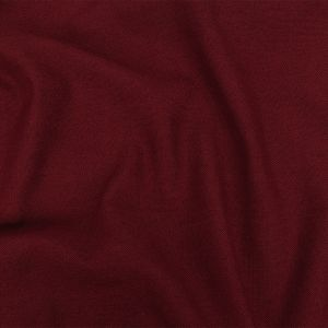 British Imported Claret Polyester, Viscose and Linen Woven
