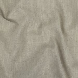 British Imported Ivory Polyester, Viscose and Linen Woven