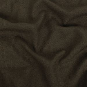 British Imported Mocha Polyester, Viscose and Linen Woven