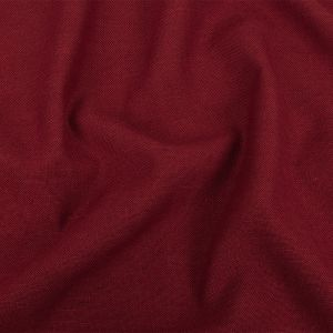 British Imported Raspberry Polyester, Viscose and Linen Woven